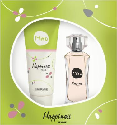 MIRO HAPPINESS EDP 50ML + SHOWERGEL 100ML