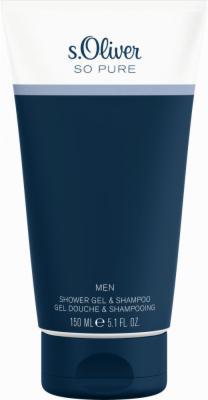 S.OLIVER SO PURE MEN SHOWER GEL & SHAMPOO