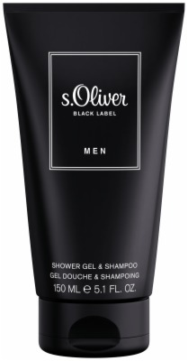 s.Oliver BLACK LABEL MEN SHOWERGEL& SHAMPOO